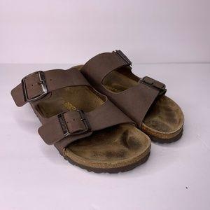 Birkenstock Arizona Brown Leather Sandal Size 36